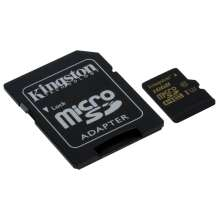 Kingston Gold microSD UHS-I Speed Class 3 (U3) 16GB