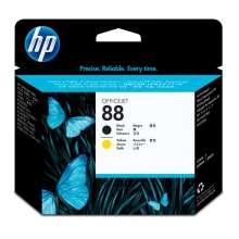 HP Cabezal de impresión original 88 negro y amarillo