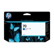 HP Cartucho de tinta DesignJet 70 azul 130 ml