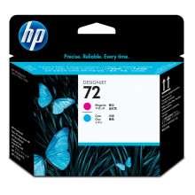 HP Cabezal de impresión DesignJet 72 magenta y cian