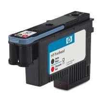 HP Cabezal de impresión DesignJet 73 negro mate/rojo cromático