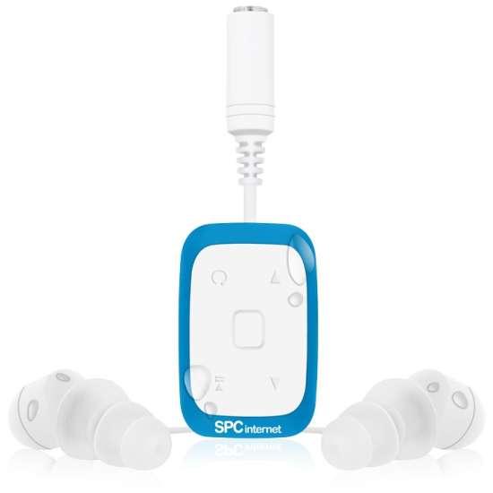 SPC Sport Aqua Reproductor MP3/MP4 Blanco/Azul 8334A thumb 1