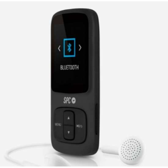 SPC Pure Sound Bluetooth Reproductor MP3/MP4 Negro 8578N thumb 1