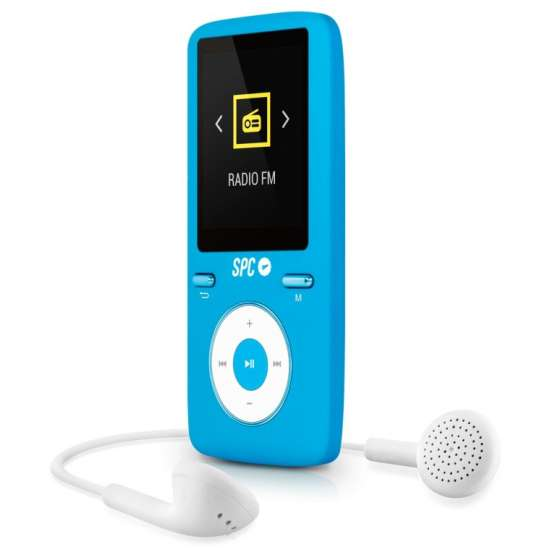 SPC Pure Sound Colour 2 Reproductor MP3/MP4 Azul 8488A thumb 1