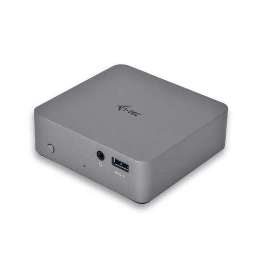 I-tec USB-C replicador de puertos 4K metal thumb 1