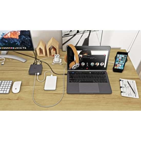 I-tec USB-C replicador de puertos 4K metal thumb 5