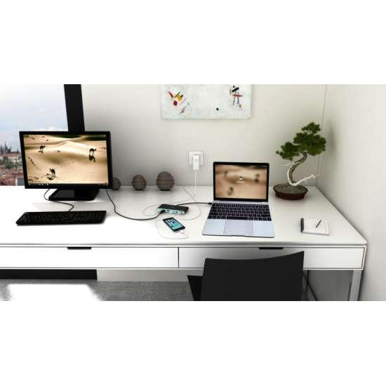 I-tec USB-C 4K Travel replicador de puertos – adaptador multifuncional thumb 4