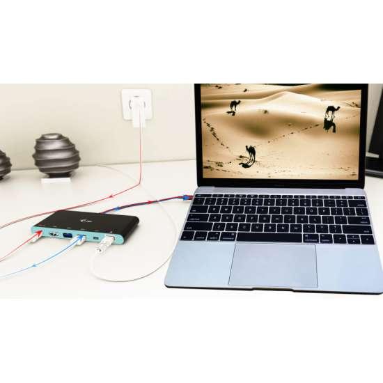 I-tec USB-C 4K Travel replicador de puertos – adaptador multifuncional thumb 8