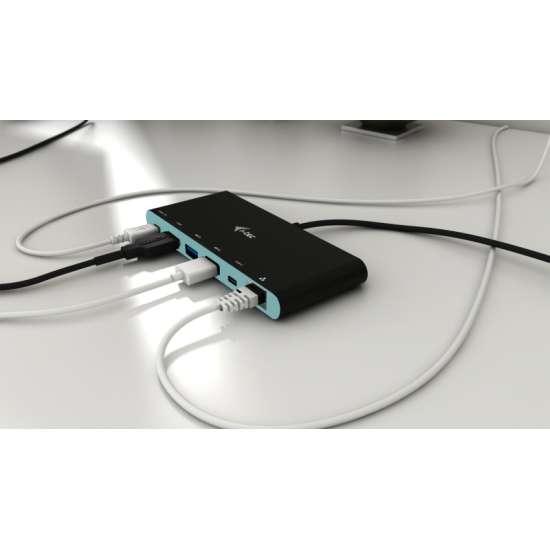 I-tec USB-C 4K Travel replicador de puertos – adaptador multifuncional thumb 9