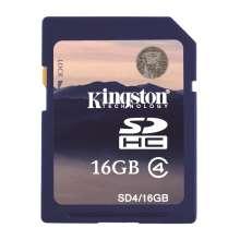 Kingston 16GB SDHC Card