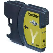 Brother LC-1100Y  Yellow Ink Cartridge
