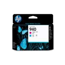 HP Cabezal de impresión original 940 magenta y cian