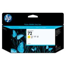 HP Cartucho de tinta DesignJet 72 amarillo 130 ml