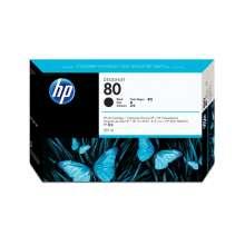 HP Cartucho de tina DesignJet 80 negro 350 ml
