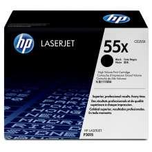 HP Cartucho de tinta original 55X alta capacidad negro