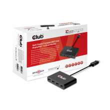 Club3d SenseVision MST Hub DisplayPort™ 1.2 Quad Monitor
