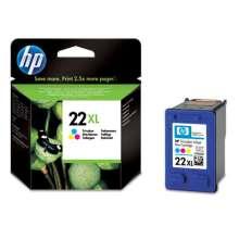 HP 22XL - Cian, magenta, Amarillo