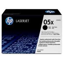 HP Cartucho de tóner original LaserJet 05X alta capacidad negro