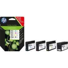 HP 950XL/951XL - Negro, Cian, Magenta, Amarillo, (Pack de 4)